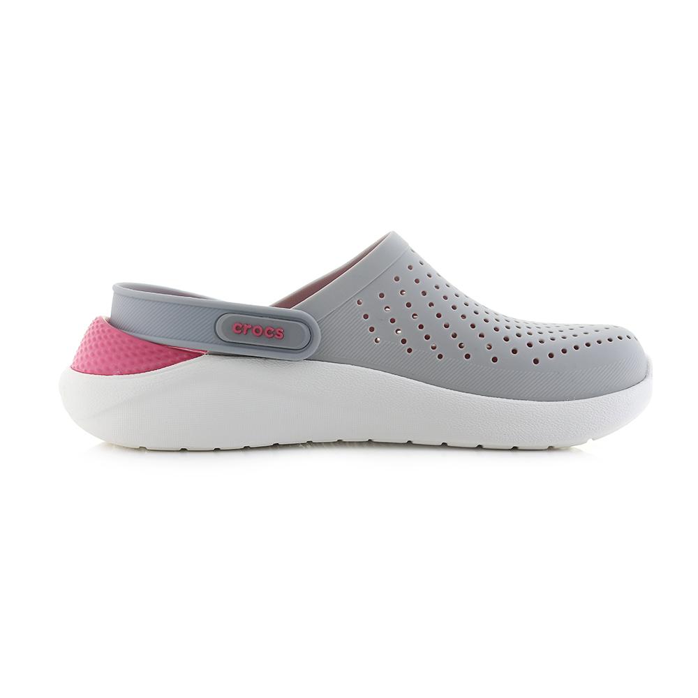 a57b749b221 Womens Crocs Literide Clog Pearl White Pink Comfort Sports Sandals Sz Size