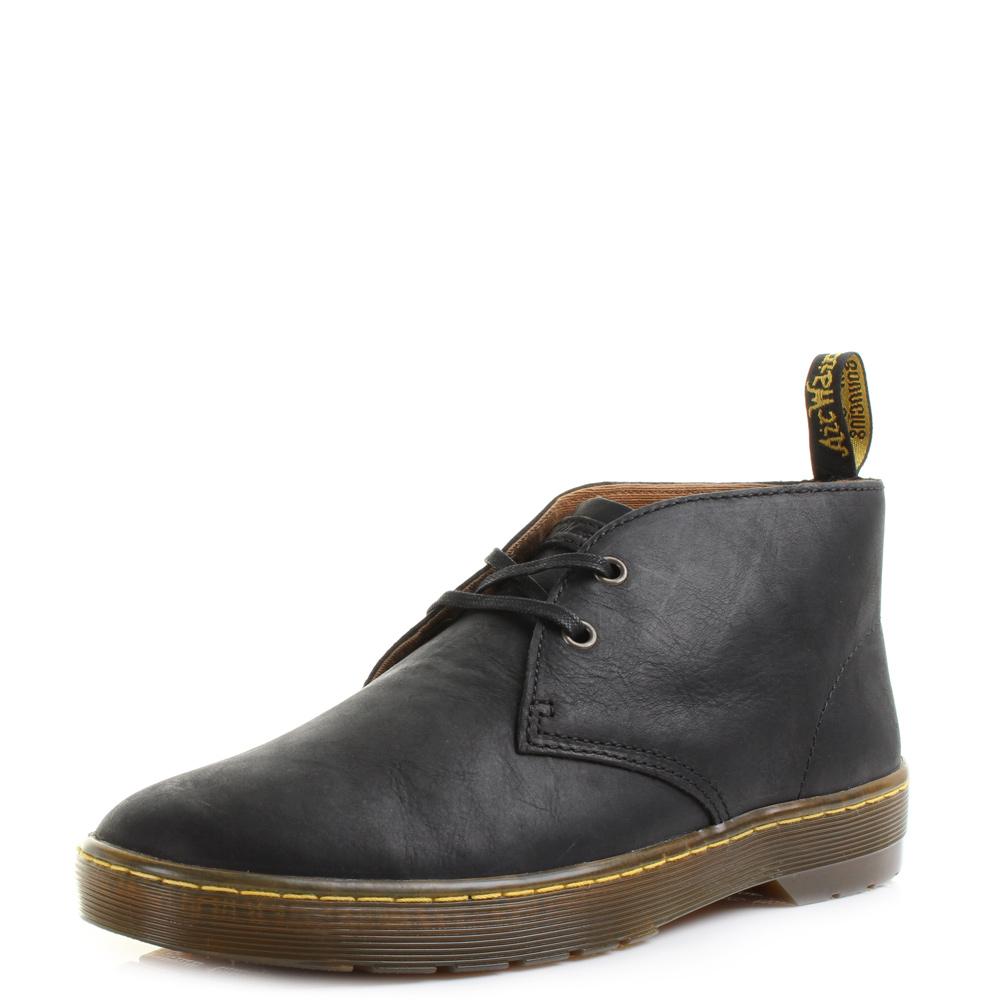 47f631d061d Details about Mens Dr Martens Cabrillo Wyoming Black Leather Desert DM  Boots UK Size