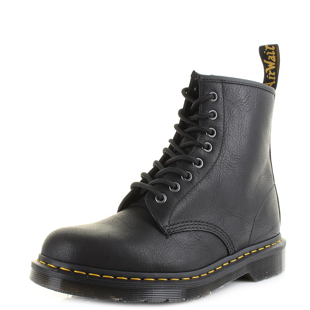 Dr. Martens Men's 1460 Carpathian Full Grain Leather 8-Eye Boots - - UK 7 bnbulr