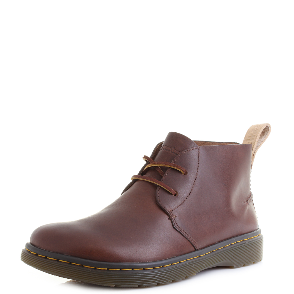 da5adfecd1d Details about Mens Dr Martens Ember Tan Westfield Premium Brown Leather  Desert Boots Sz Size