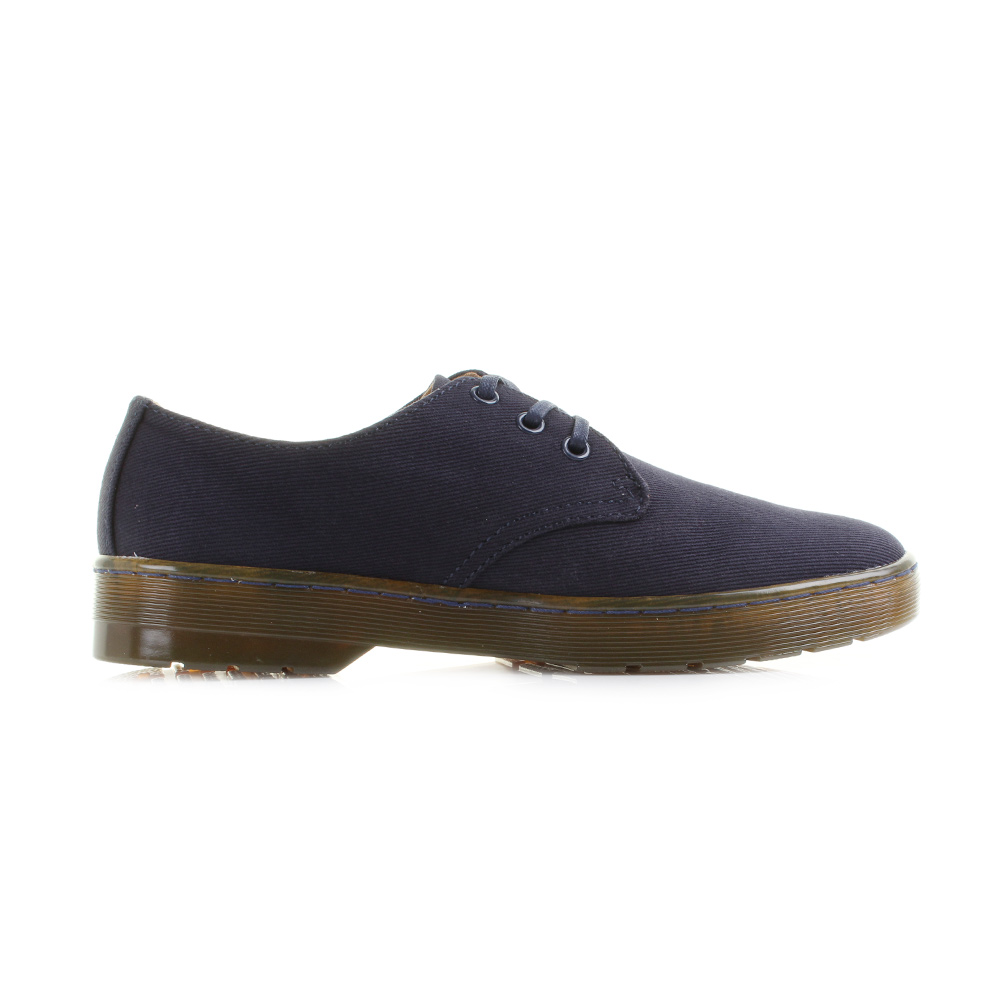 Mens-Dr-Martens-Delray-Overdyed-Twill-Canvas-Navy-