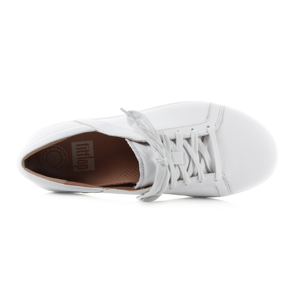 8c699c438 Womens Fitflop F-Sporty 2 Lace Up Sneakers Leather White Trainers Sz Size.  Perpetually busy  Always on-the-go  You need the latest version of Fitflops  ...