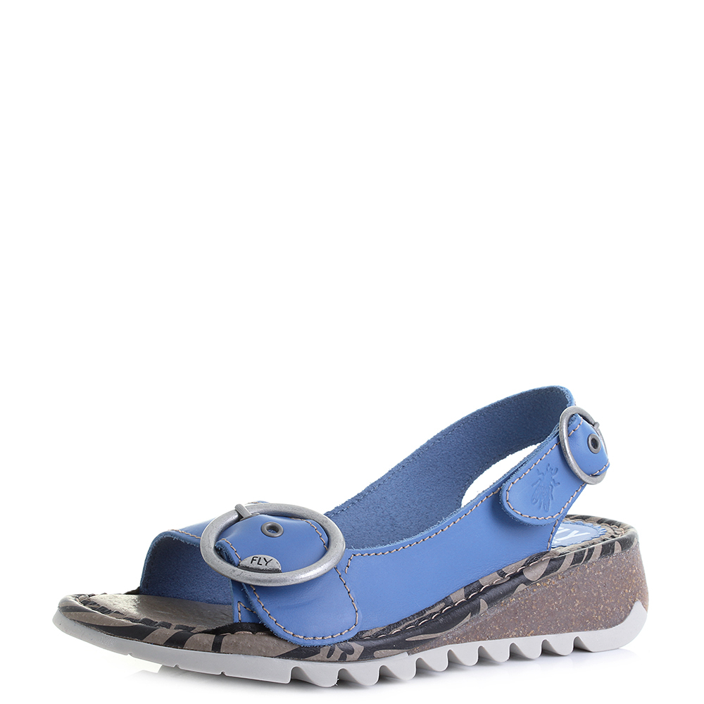 Damen Tram723fly Slingback Sandalen Fly London