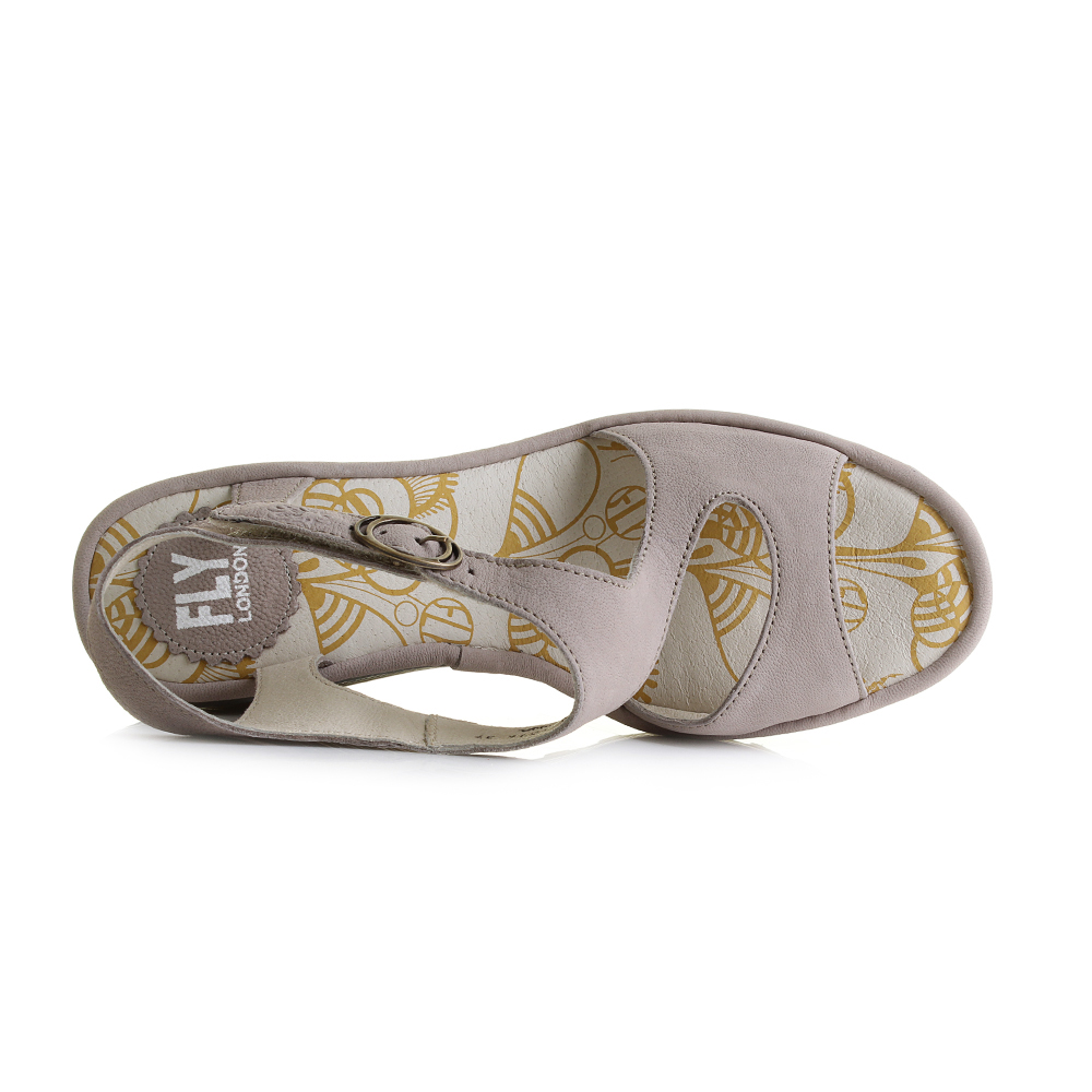 Womens-Fly-London-Yanca-Cupido-Concrete-Grey-Leather-Wedge-Heel-Sandals-Shu-Size