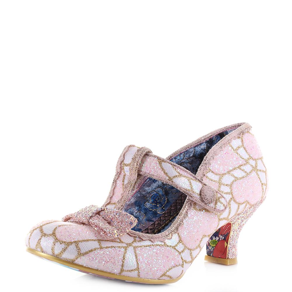 Lazy Glittered Jane Irregular Pink White Womens Choice Mary River E29HWDYI