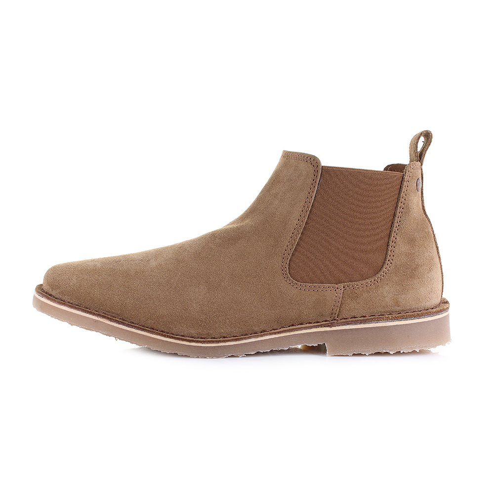 Mens Jack And Jones Leo Suede Tan Chelsea Boots Shu Size Ebay
