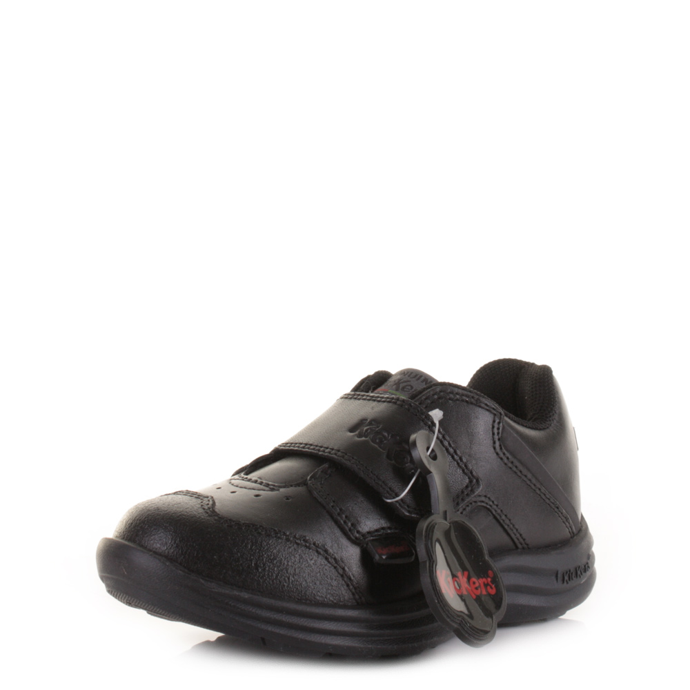 kickers school shoes velcro