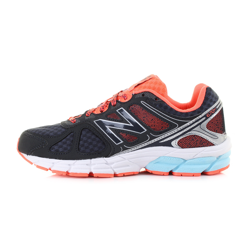 Lightweight 670 New Shoes White Balance Womens Orange Grey Fqwxnycex1 Running SS5pPxrqw