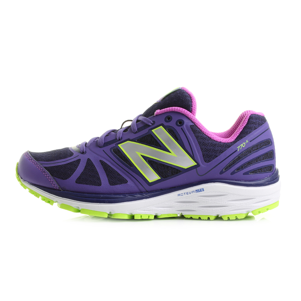 Womens-Ladies-New-Balance-770v5-Purple-White-Lime-