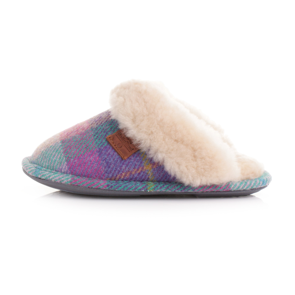 Bedroom Athletics Harris Tweed Slippers Mens