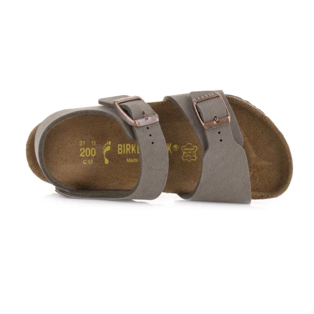 db4434fd77f7 Boys kids birkenstock new york stone narrow fit sandals uk size ebay jpg  1000x1000 Birkenstock shoes