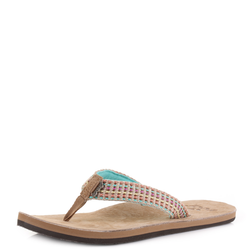 """Sizes UK4-8 REEF Women/'s Flip Flops//Sandals /""""Gypsy Love/""""  Choice of 2 colours"""