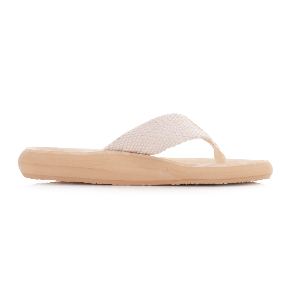 ca26aed8fb25b4 Womens Rocket Dog Sunset Double Cream Ladies Flip Flops Sandals Size ...