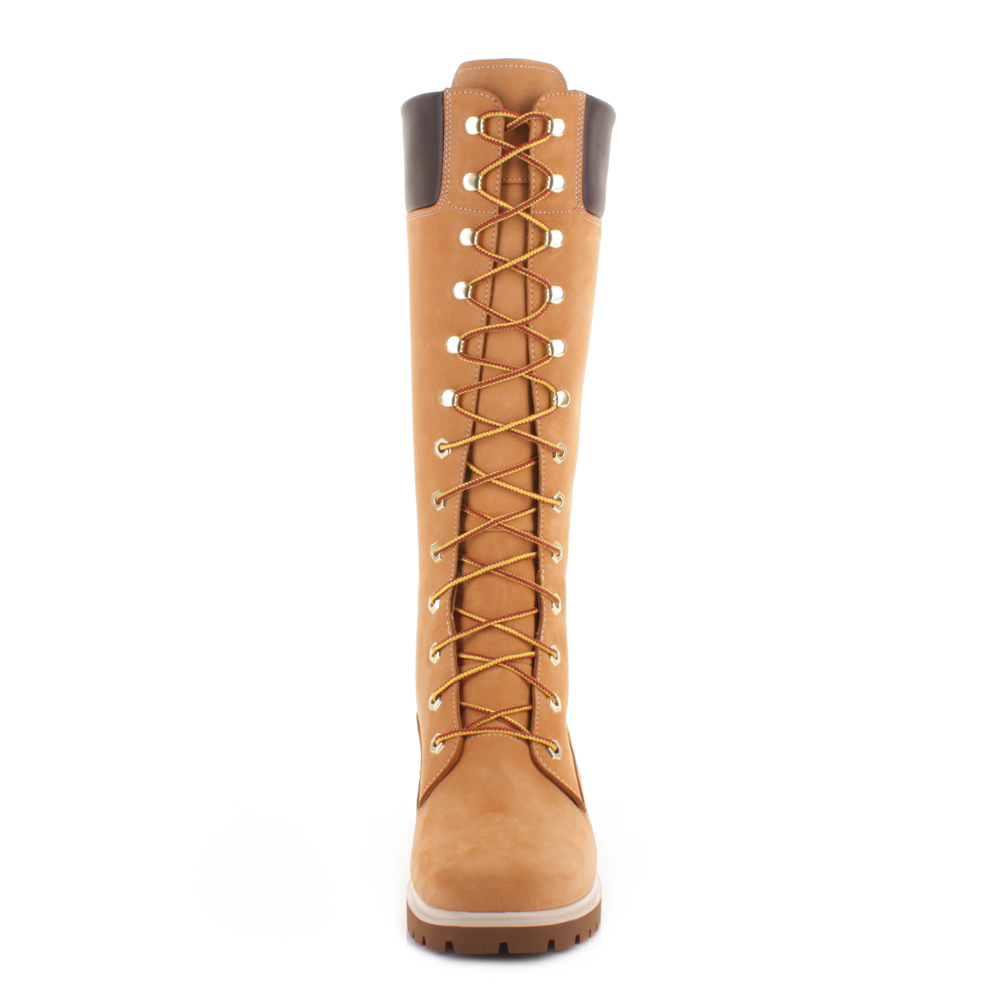 ladies high timberland boots