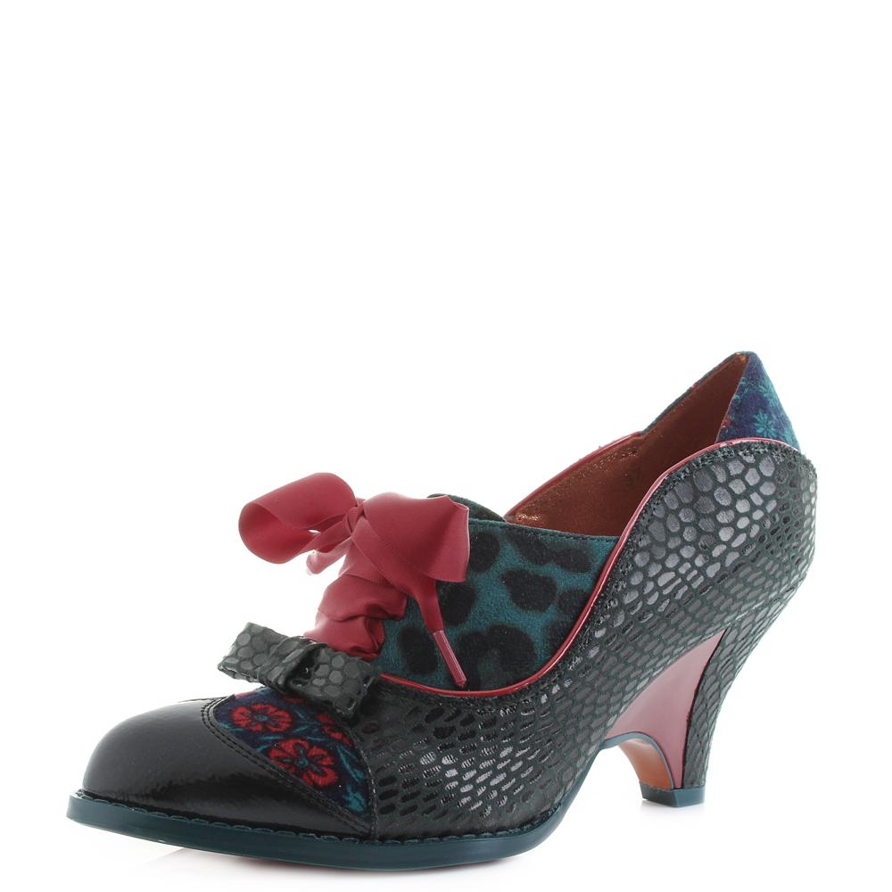 Damenschuhe Poetic Licence Force Grün Of Beauty Grün Force ROT Mid Heel Schuhes Shu ... 3c304e