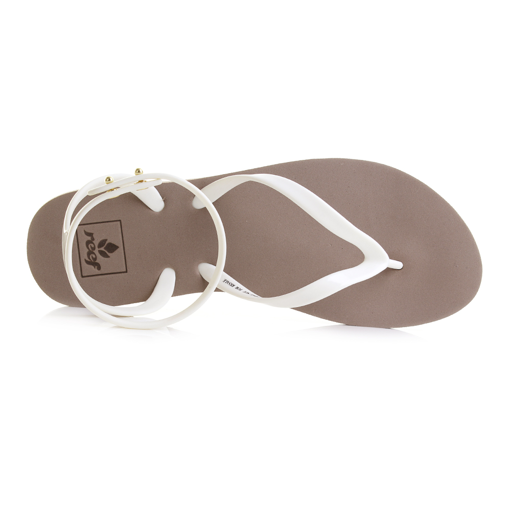 d9a023fc25316 Reef Stargazer wrap womens sandals take the regular flip flop and create a  really wearable and comfortable sandal with ankle strap. They have a Taupe  Grey ...