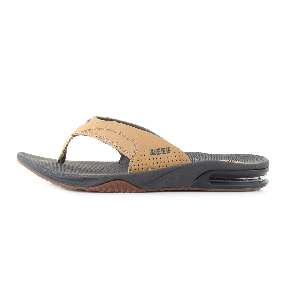 3a1d83ca79fc The Reef Fanning is the ultimate athletic sandal of comfortable  water-friendly synthetic nubuck upper and a cushioning EVA sole unit that  offers a ...