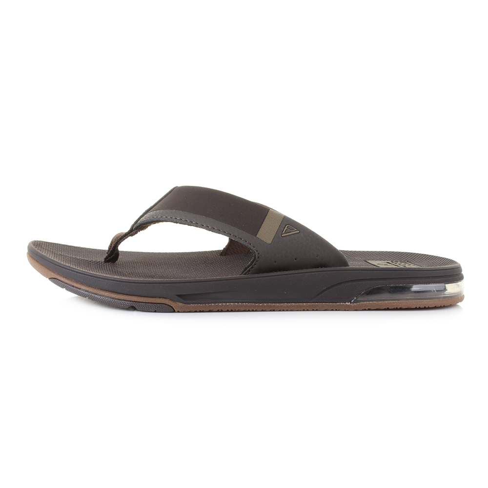 Reef Tongs Brown Low Shu Postes Fanning Taille Mens N0wkX8PnO
