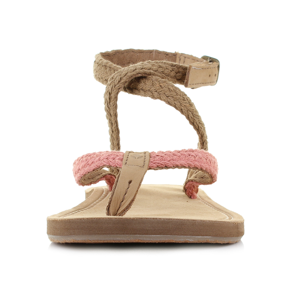 Strap Wrap Blush Sandals Womens Size Ankle Ebay Gypsy Reef qgzXPa