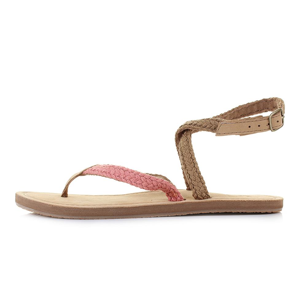 b187e73eae1a21 Womens Reef Gypsy Wrap Blush Ankle Strap Sandals UK Size