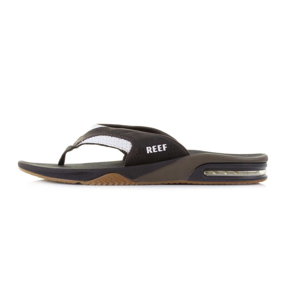faf48800914a2b The Reef Leather Fanning is one of Reefs most well known and loved lines.  This version of the product offers all the quality and comfort of the  standard ...