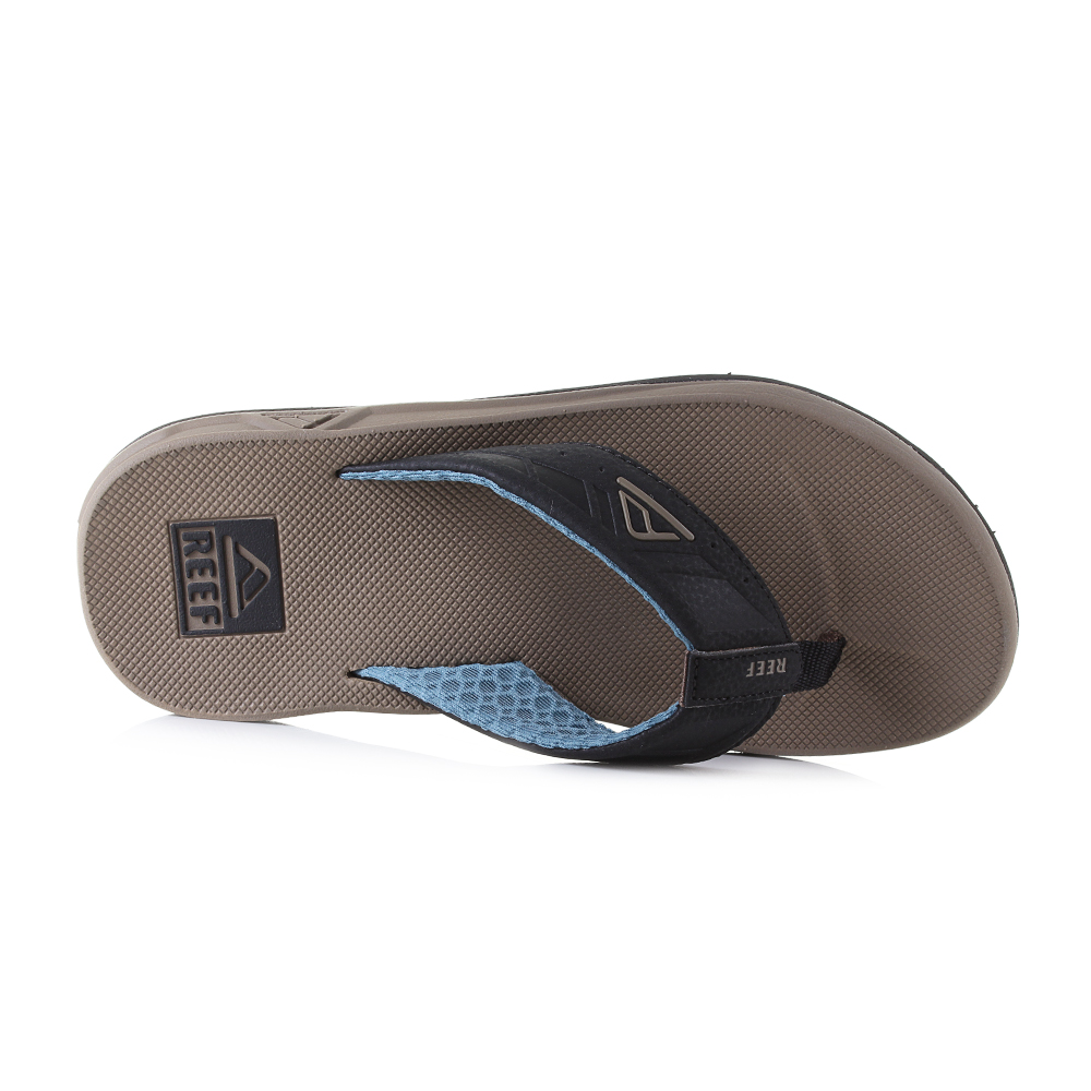 c656973bebf7 The classic thong flip flop has been perfected over the years and Reef have  been one of the leaders in comfort and style. The brown black and blue  colour ...
