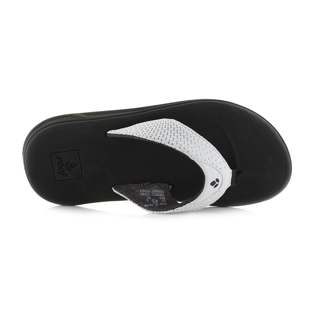 Womens Reef Rover Black White Toe Post Sandals Sandals Sandals Flip Flops Shu Size 67d3b5