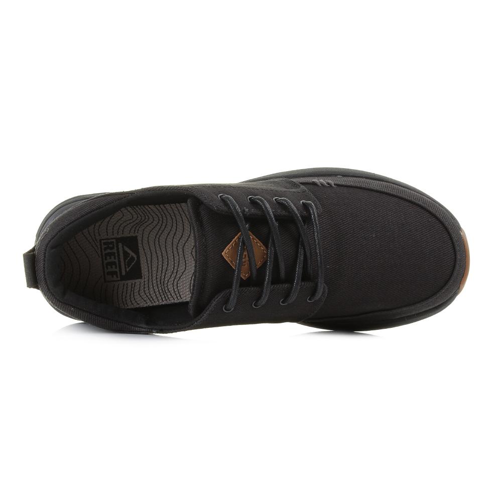 Mens-Reef-Rover-Low-TX-All-Black-Comfort-
