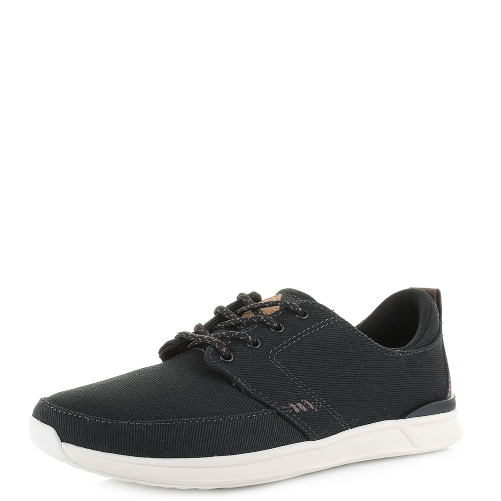 Reef Damen Rover Low Sneaker, Schwarz (Black/Charcoal BLC), 37.5 EU