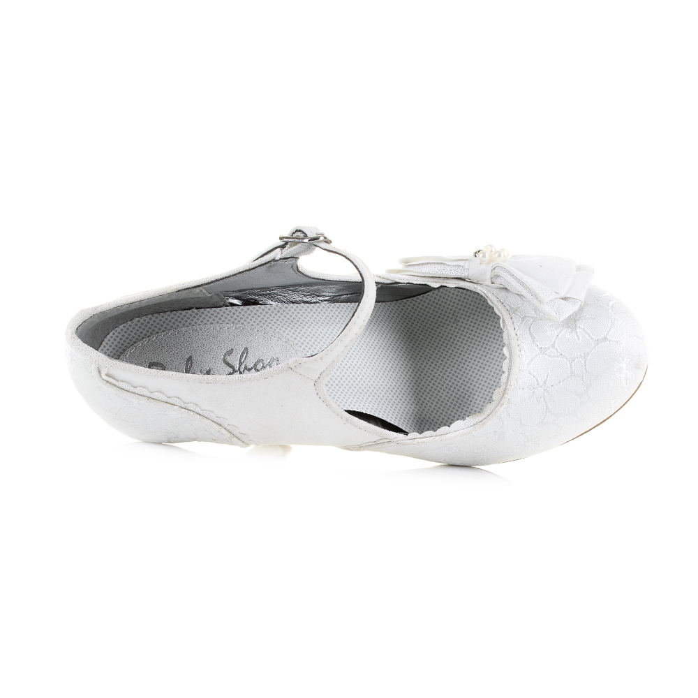 3dac1a5a4c5d2 Ruby Shoo Maria is a high heeled court shoe that has been finished in this  clean white colour scheme that is perfect for weddings and special  occasions.