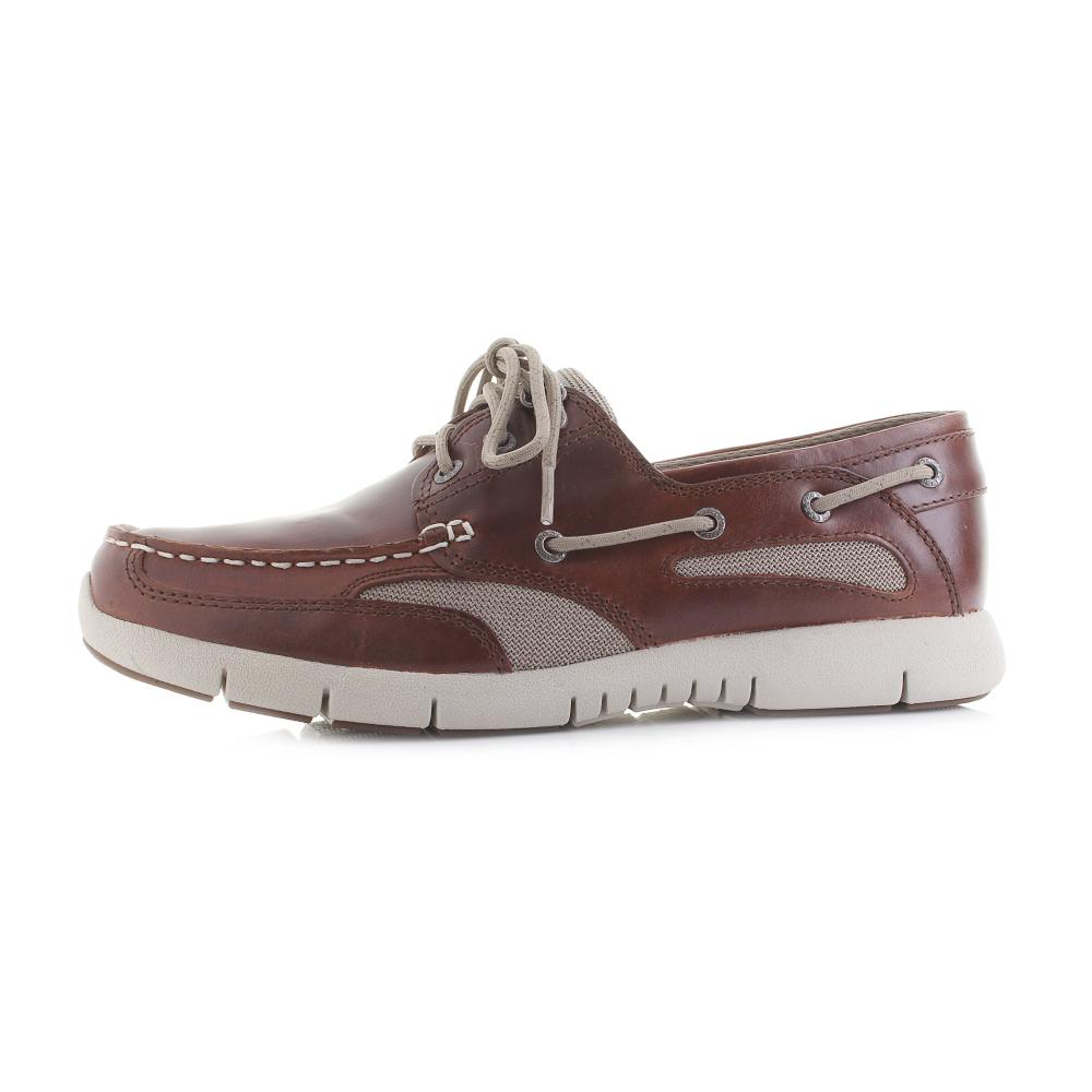 db34736db6786 Mens Sebago Clovehitch Lite FGL Waxed Brown Cinnamon Boat Shoes Shu Size