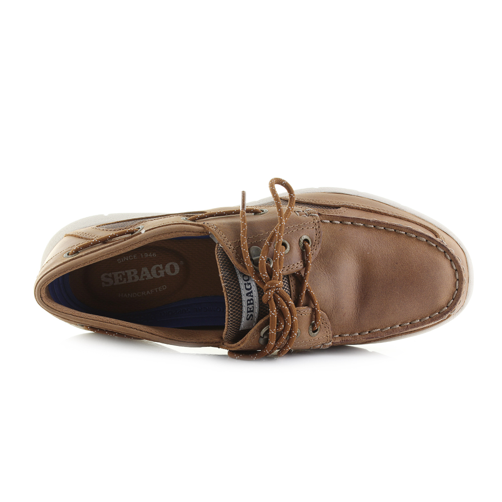 1eb842c1da1 Sebago Clovhitch Lite is a classic boat shoe with a leather upper and  classy design all finished in a brown tan colour scheme that offers a  versatile look ...