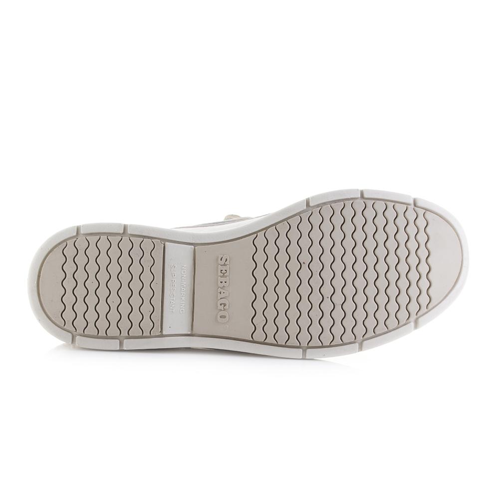 SebagoLITESIDES TWO EYE TUMBLED - Boat shoes - white myBiqxJIki