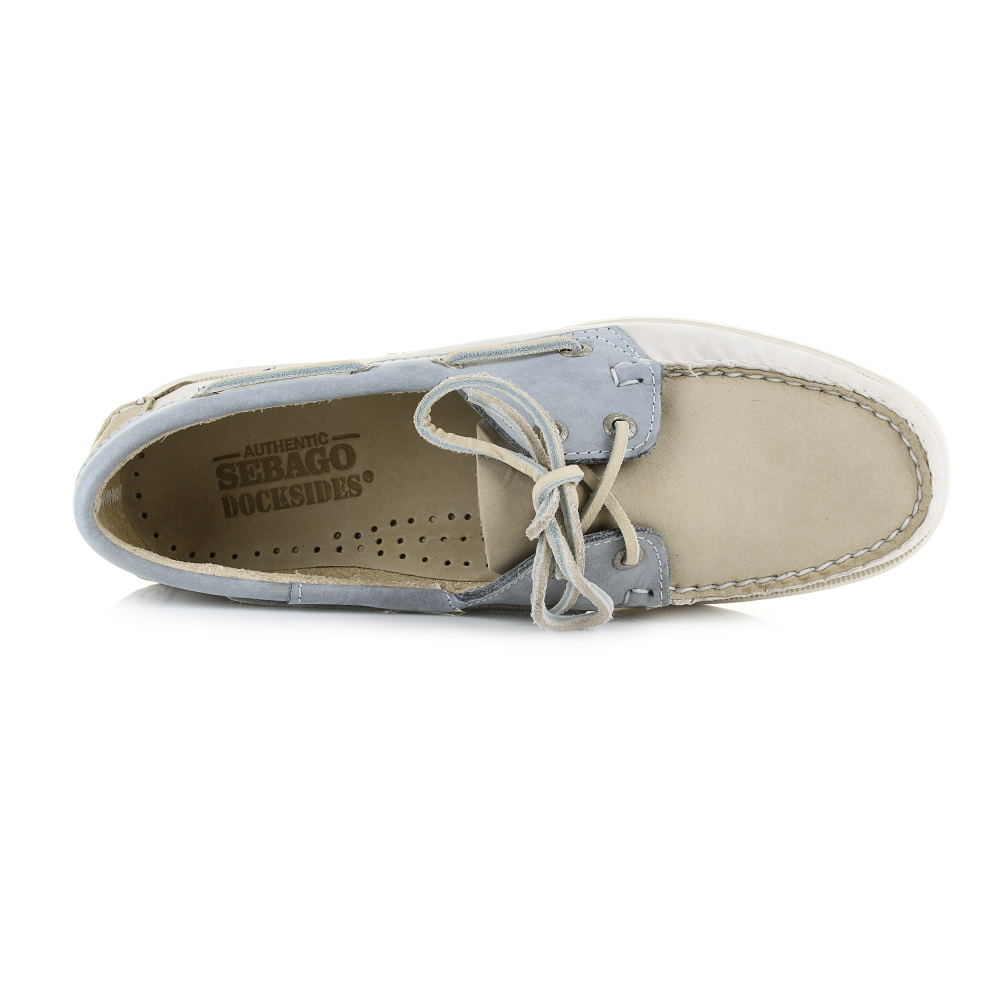 43b08cd5deee9 These Classic Sebago Womens Spinnaker Deck Boat Shoes look perfectin these  summer colours in Nubuck. Featuring the hand sewn moccasin uppers with  matching ...