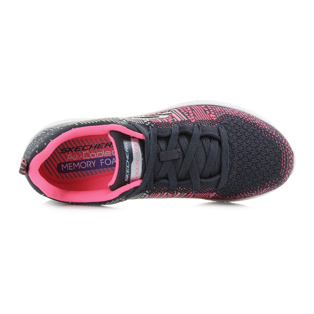 b70a71db547d Skechers lightweight construction of the Burst Ellipse makes it a versatile  and practical sporty casual trainer perfect for use on a daily basis.