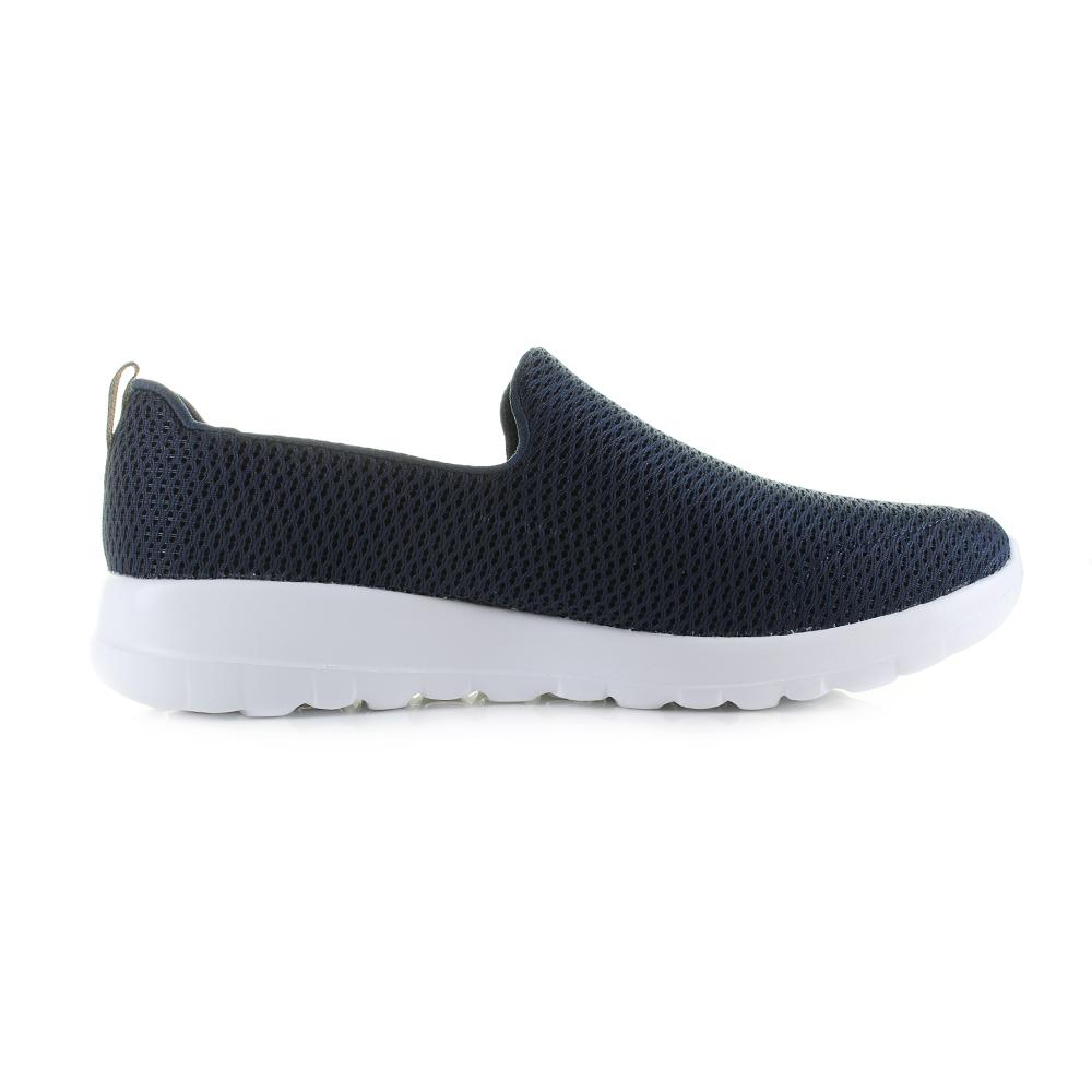 s sketchers marcher joy blanc shu de la marine chaussures confort légers formateur shu blanc siz 82aff6