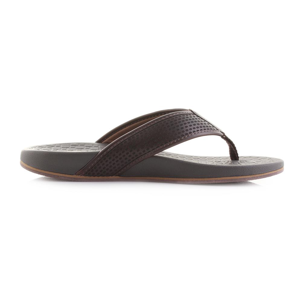 22e2c0658ea0 Mens Skechers Pelem Emiro Choc Comfort Sandals Flip Flops Sz Size