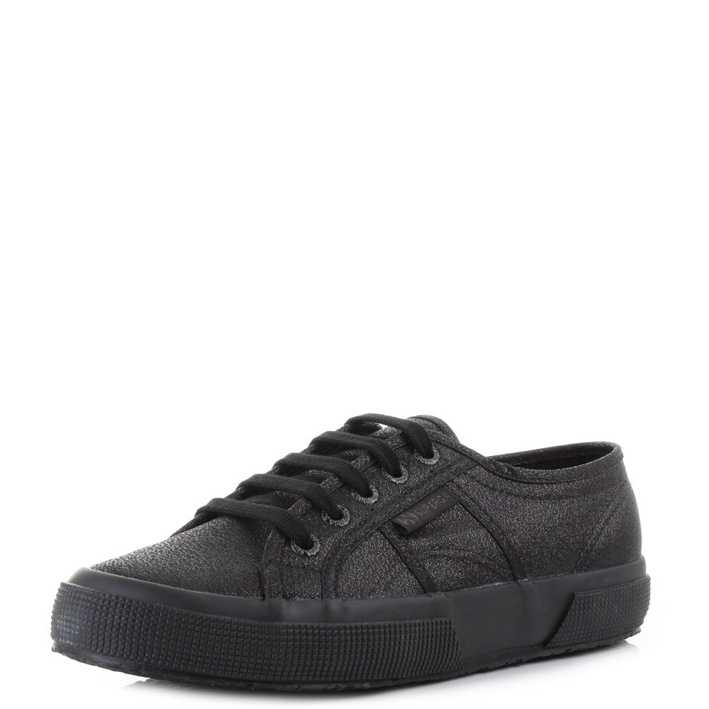 Black 'Lamew' lace up trainers sale countdown package SmaN5Sh