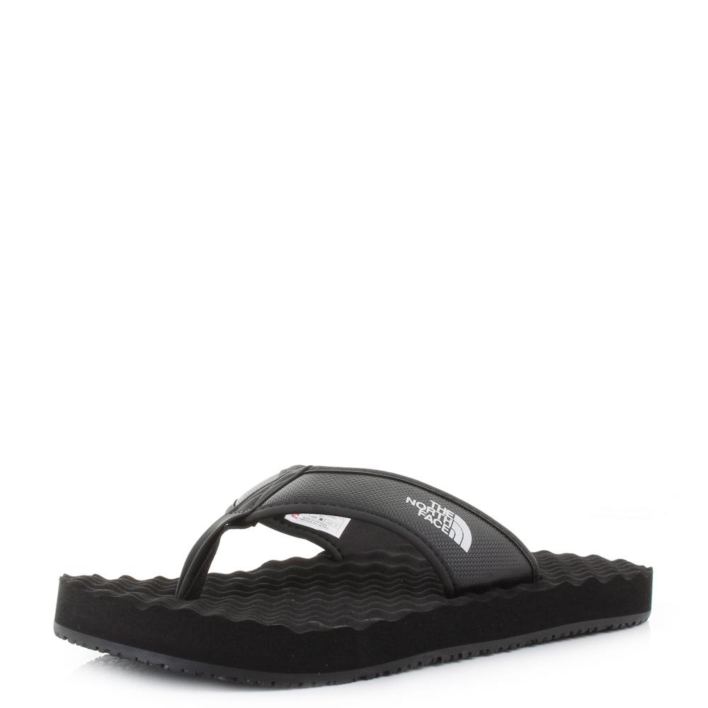 f678067e3 Details about Mens The North Face Basecamp Flip Flop Black Black Sandals UK  Size