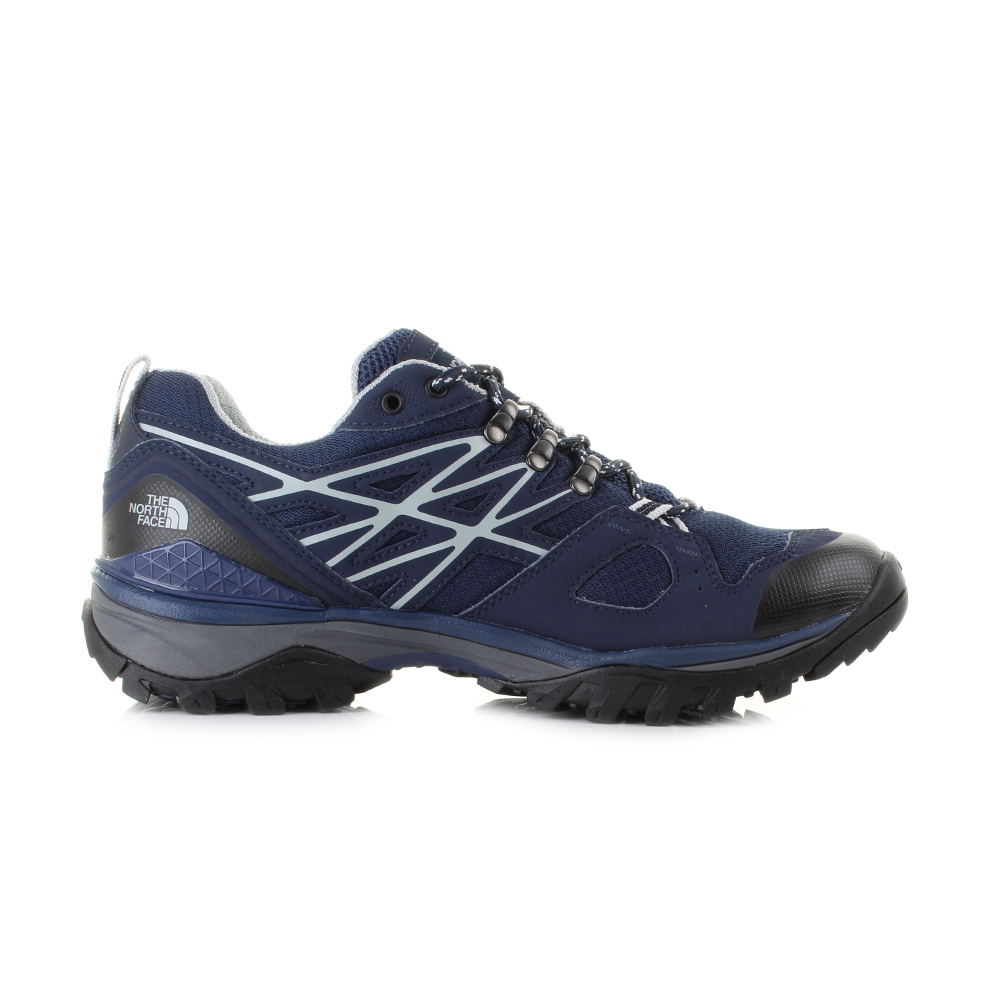 Womens Blue North Face Hedgehog Walking Shoes