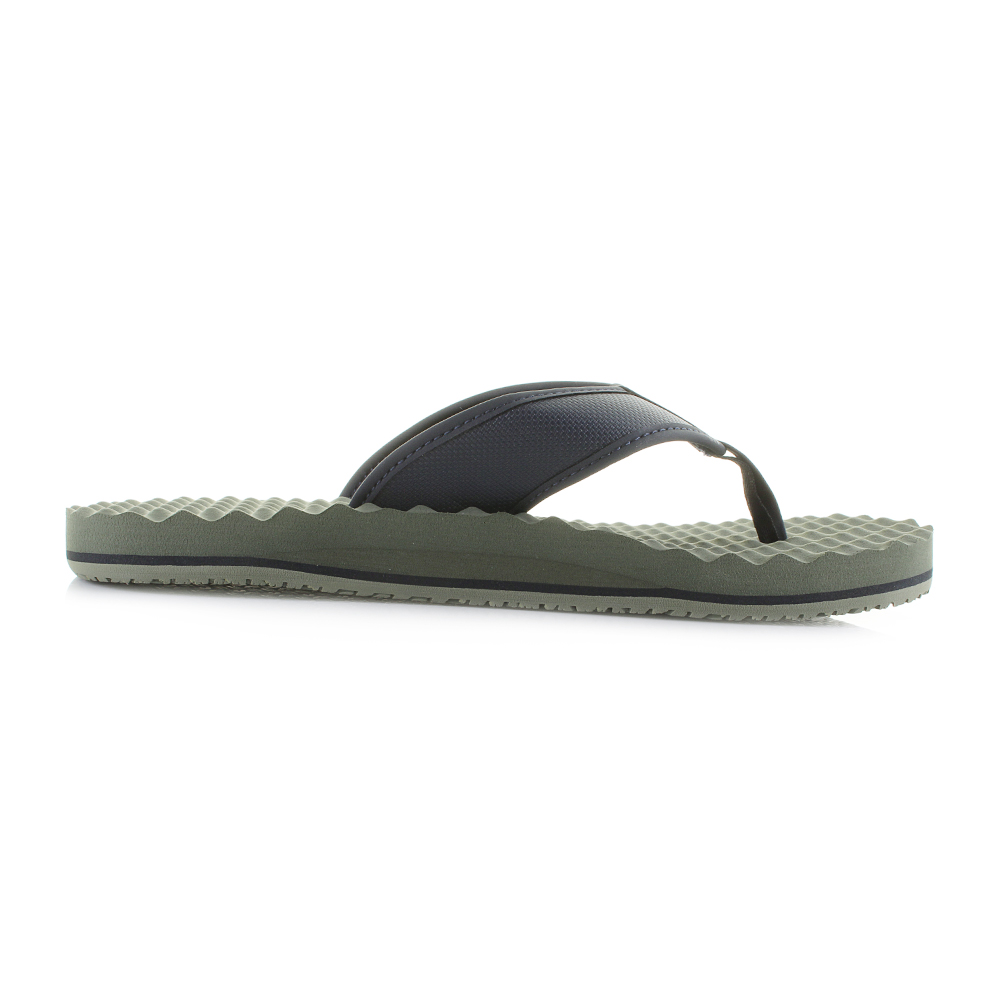5dbc2f75d1c7ba Mens The North Face Base Camp Flip Flop Green Urban Navy Sandals Size