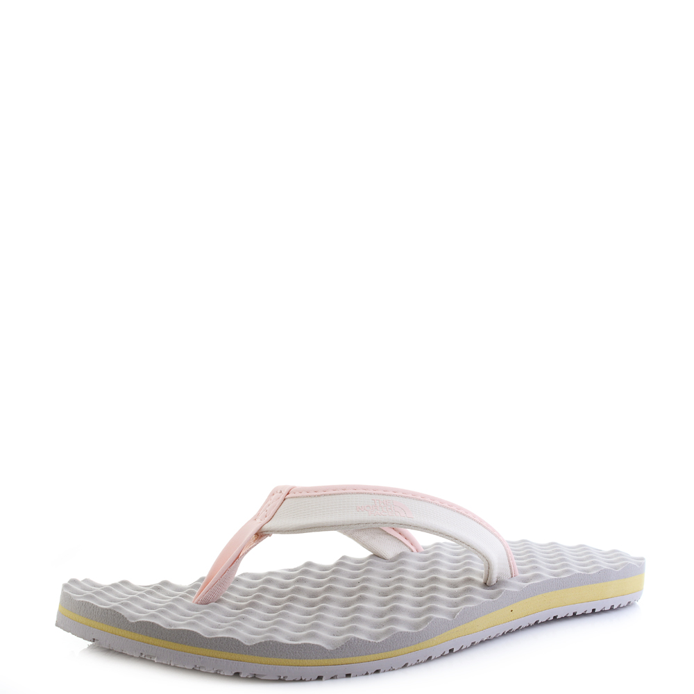 175816af5a82b1 Womens The North Face Base Camp Mini Vintage White Flip Flops Size ...