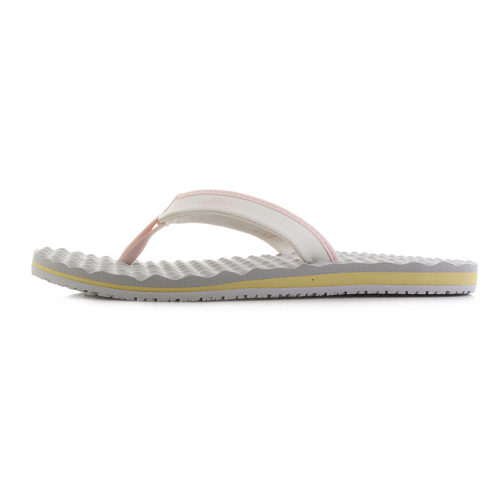 4bfd591ec4e2 Womens The North Face Base Camp Mini Vintage White Flip Flops Size ...