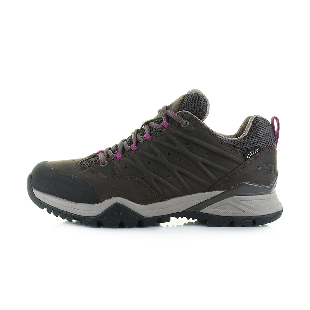 7f0753857 Details about Womens The North Face Hedge Hedgehog 2 GTX Brown Purple  Hiking Shoes Shu Size
