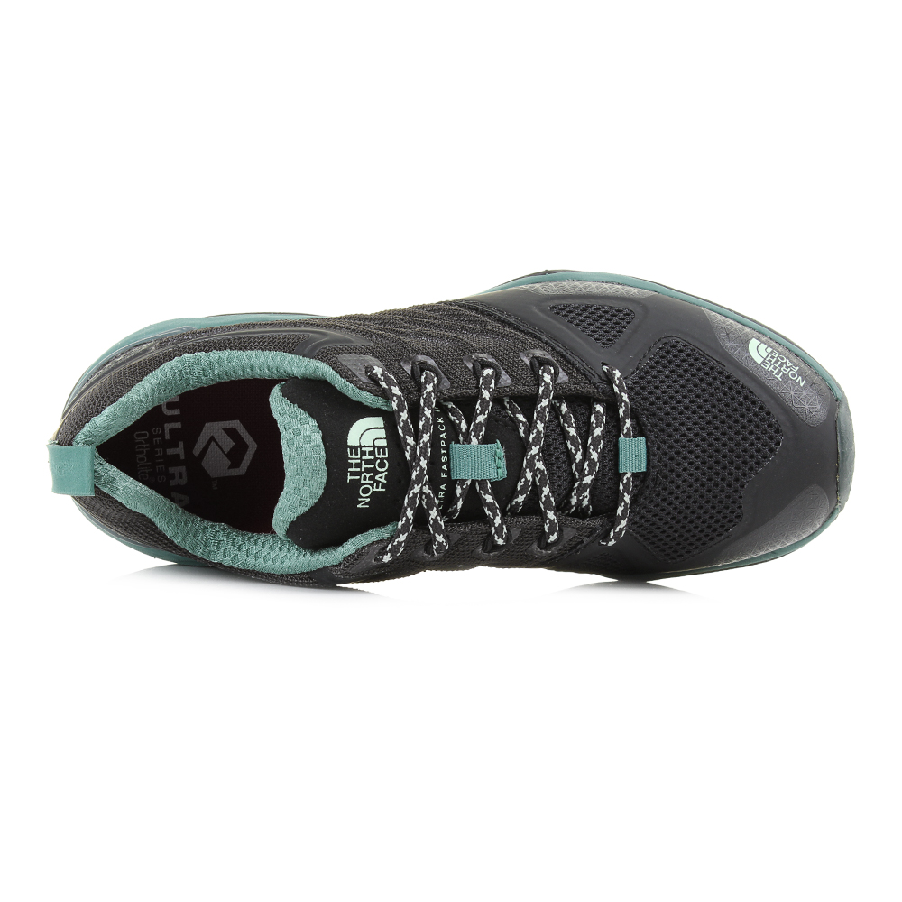 Womens Womens Womens North Face Ultra Fastpack 2 GTX Black Subtle Green Trainers Shu Size a14554