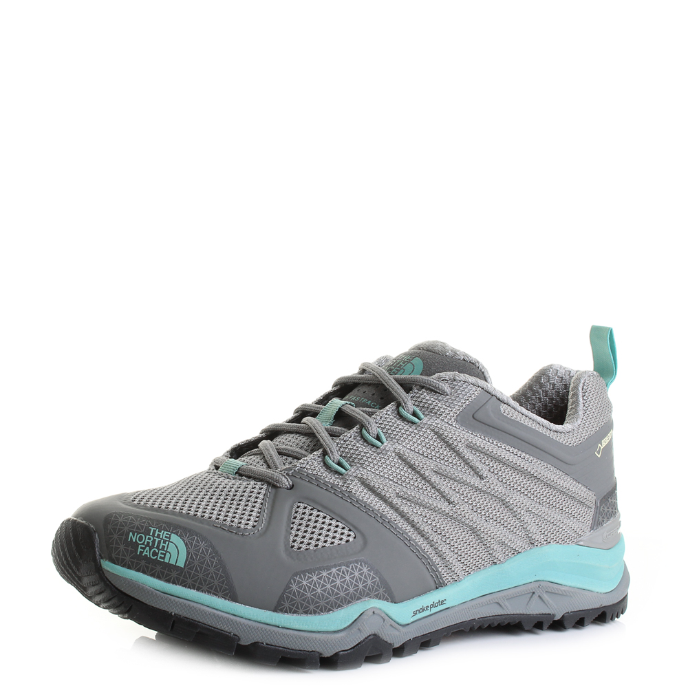 16211ab37 Details about Womens The North Face Ultra Fastpack 2 GTX Grey Green Walking  Shoes Size
