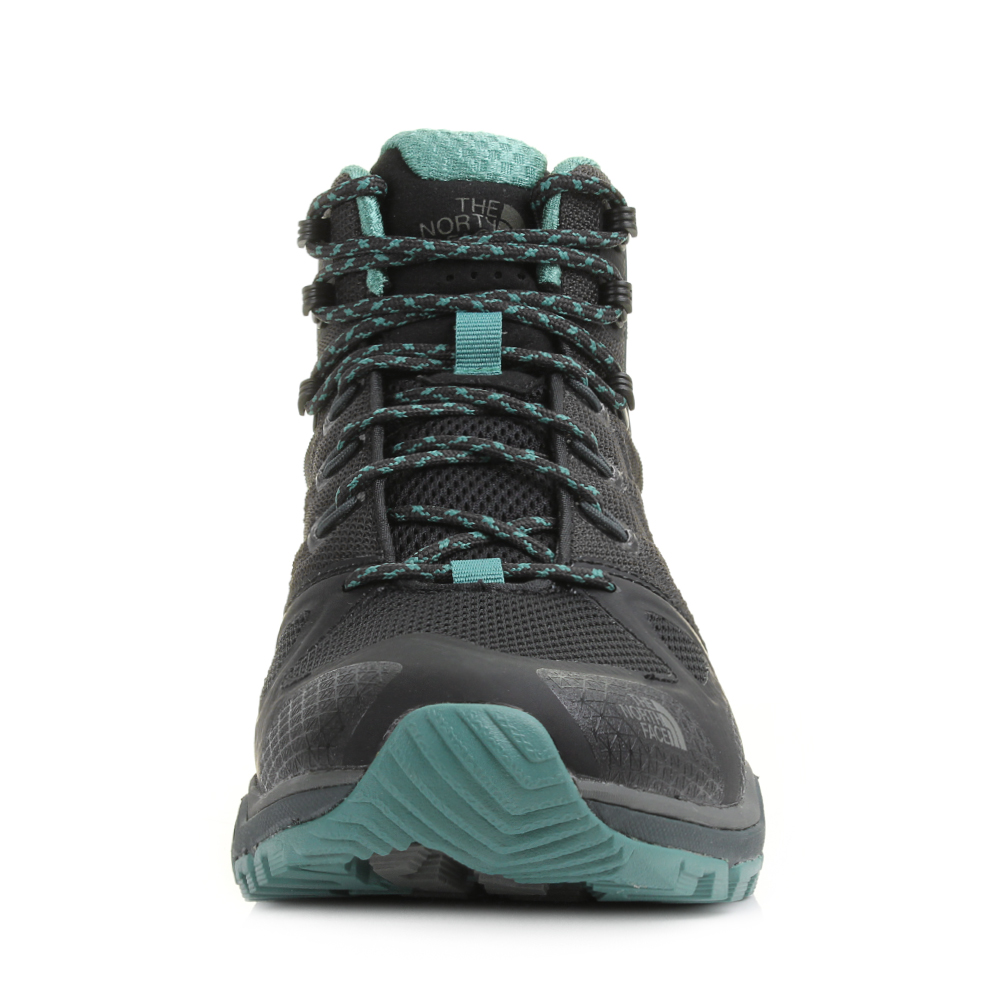c7ced77e278 Details about Womens The North Face Ultra Fastpack 2 Mid GTX Black Sea  Hiking Shoes Sz Size