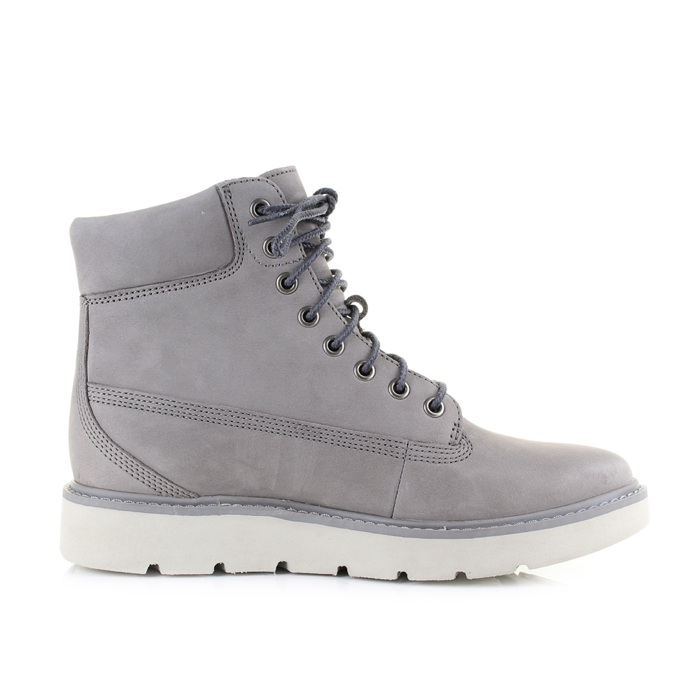 Womens Details Timberland About Lace Sz 6 Steeple Grey Size Kenniston Inch Boots JFK31Tlc