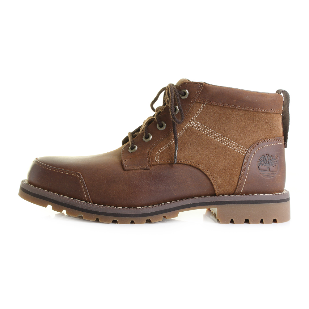 Mens Timberland Larchmont Chukka Brown Lace Up Ankle Boots Shu Size  Ebay-7628