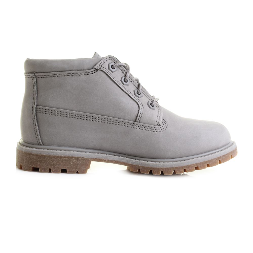 womens timberland nellie chukka steeple grey waterproof